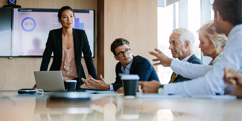 How to Succeed When Your Conversations Move from the Water Cooler to the Boardroom